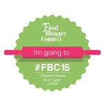 I'm going to Food Blogger Connect 2015